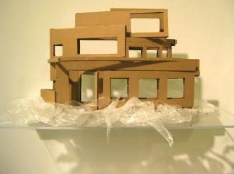 Cardboard Home Detail